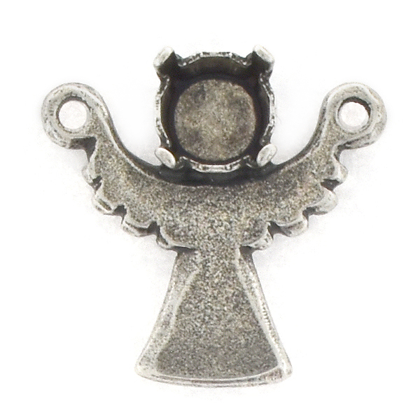 29ss Angel Pendant base with two top loops