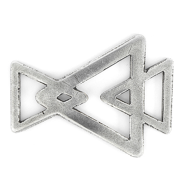 Three Hollow Triangles Jewelry connector