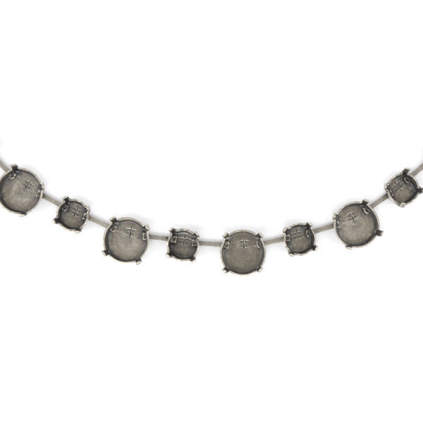 Cup Chain for Necklace 39ss with 12mm Rivoli