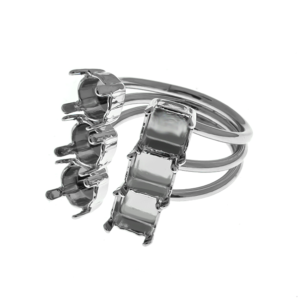 29ss / 6mm Imperial settings adjustable open multi layered ring base