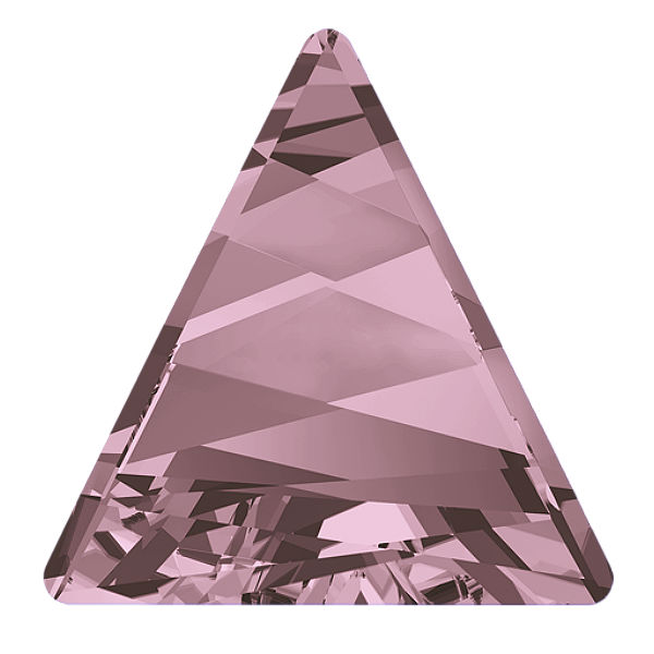 Swarovski 4717 Delta Fancy stone 21.5 Antique pink color