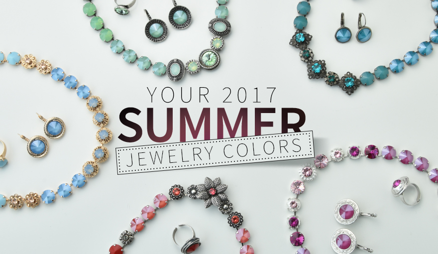 New 2017 Summer color inspiration