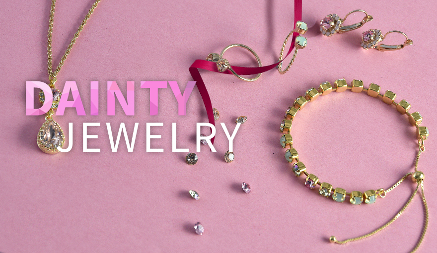 Dainty Jewelry collection for spring