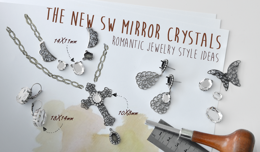 Creating with the new Baroque Mirror SW crystal