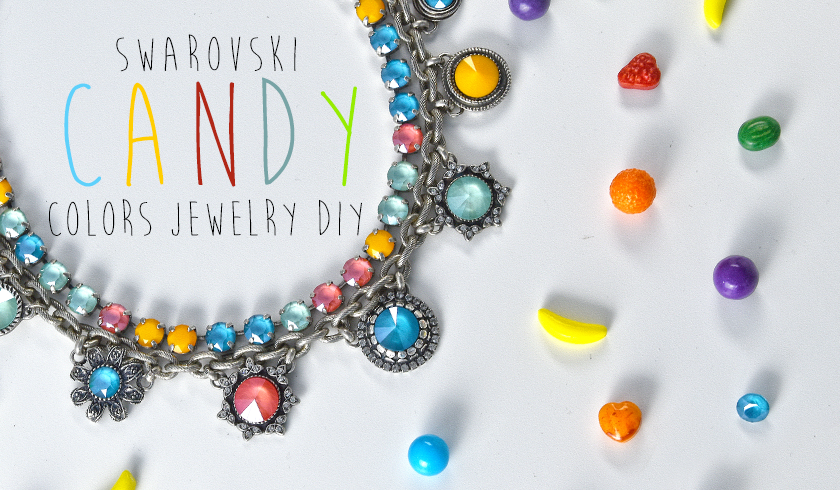 Candy color SW jewelry inspiration