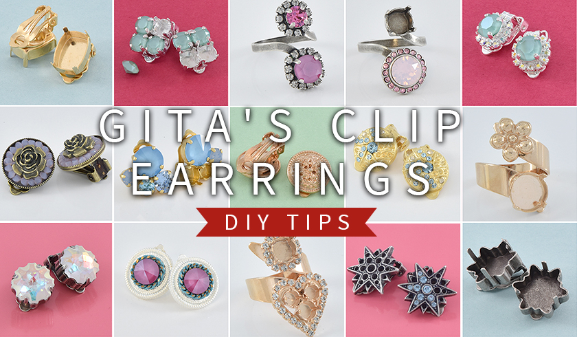Clip earrings and a few DIY tips