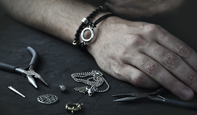 DIY tips for making MEN jewelry