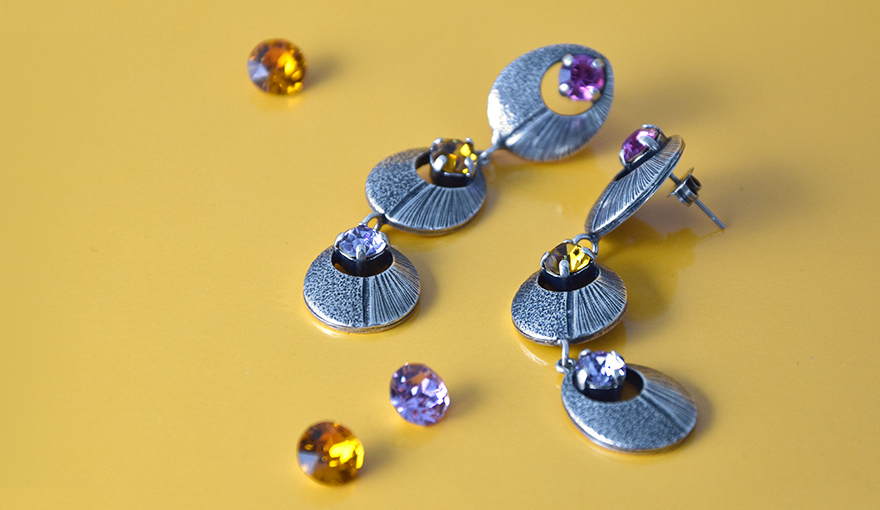 New hollow drop, metal casting jewelry bases