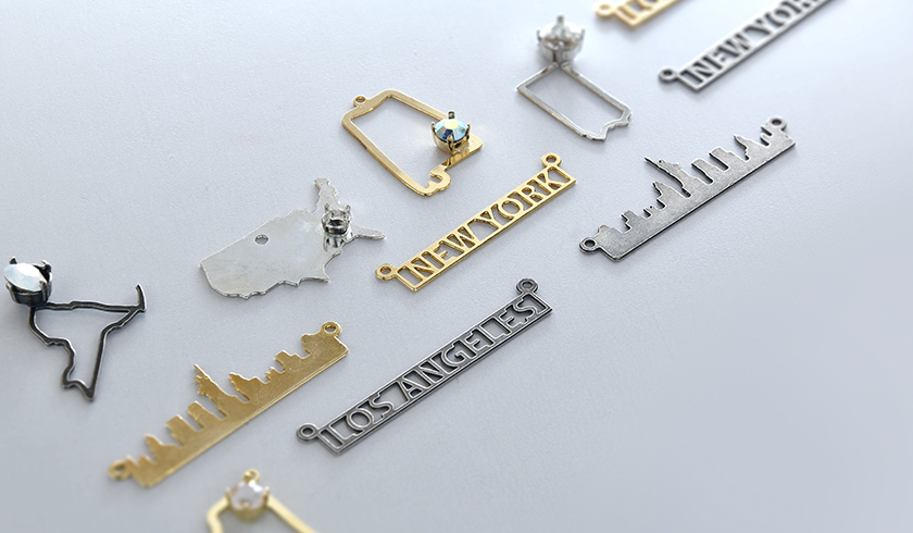 New Metal Photo-chemical Etching Pendant Bases