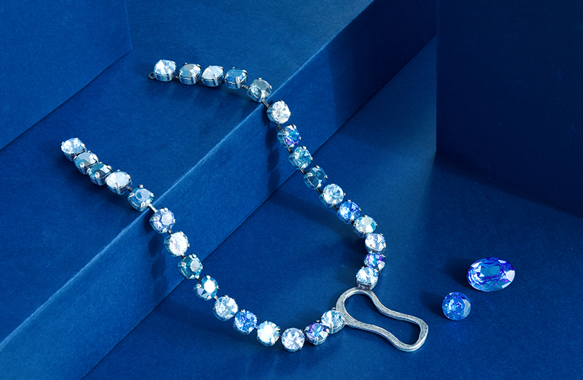 39ss cup chain Necklaces and Bracelets with Magical Swarovski crystals