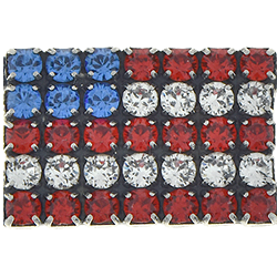 SW Rhinestones USA Flag Set