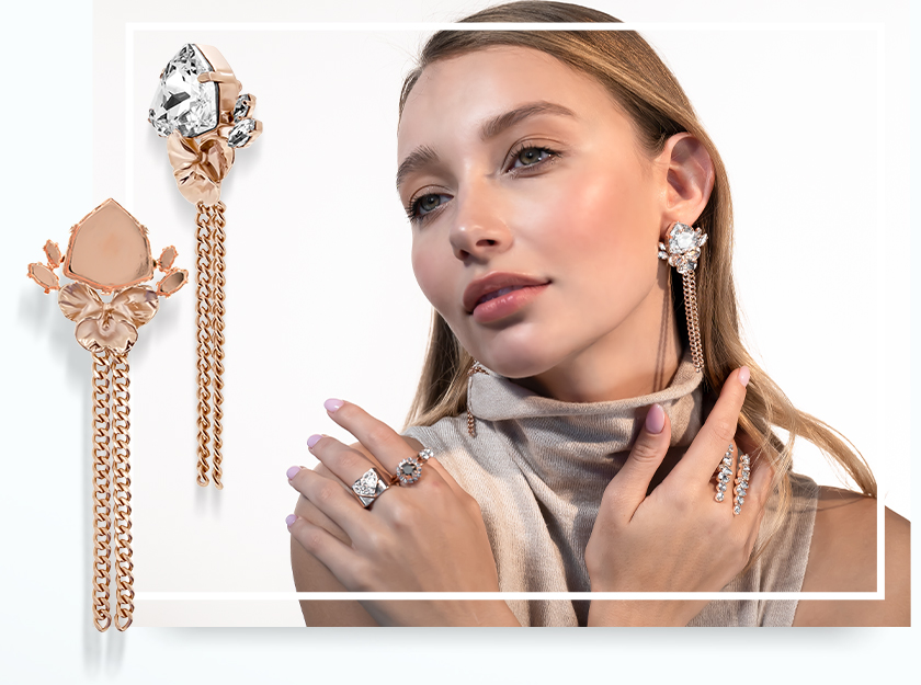 We dressed our model in Total Rose Gold look - see what happened!