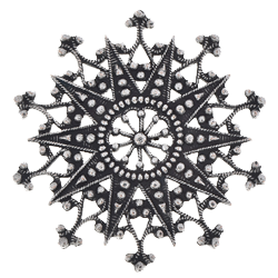Royal filigree snowflake Set