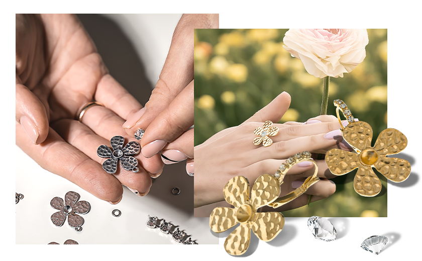 Add summer mood to your jewelry