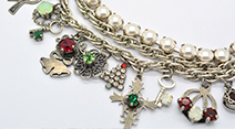 Christmas Charms Necklace