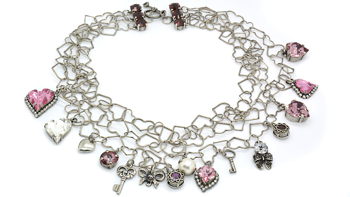 Valentine's charms Necklace