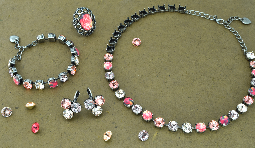 Pink roses 39ss jewelry inspiration