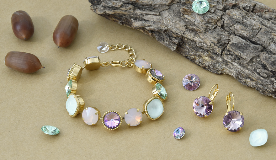 Pastel color jewelry inspiration