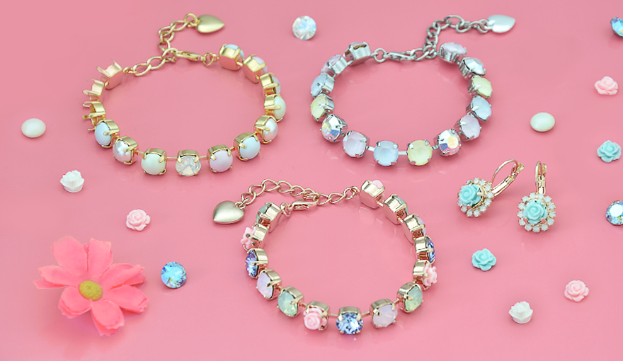 Easter pastel color jewelry inspiration