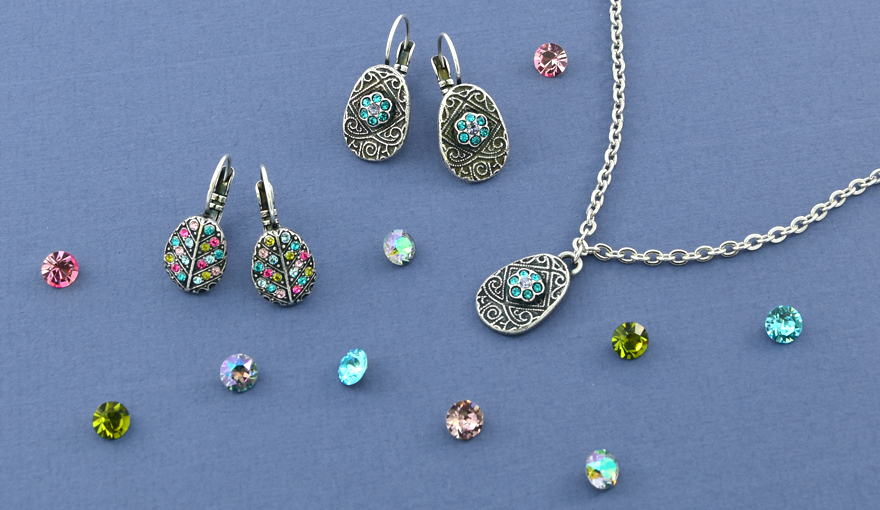 Colorful Easter charms, jewelry inspiration