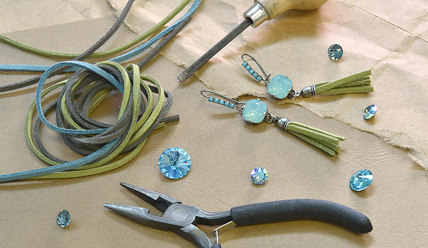 A guide for making Jewelry with Suede Leather cords