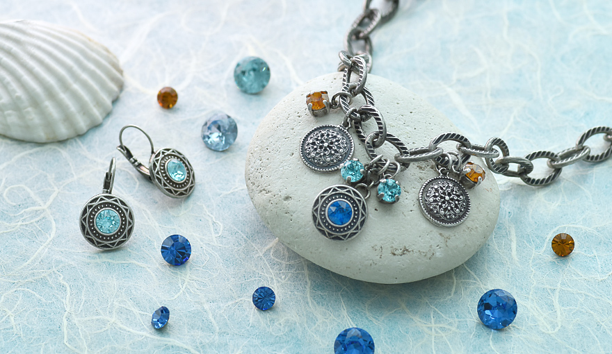 Ethnic style charms jewelry inspiration