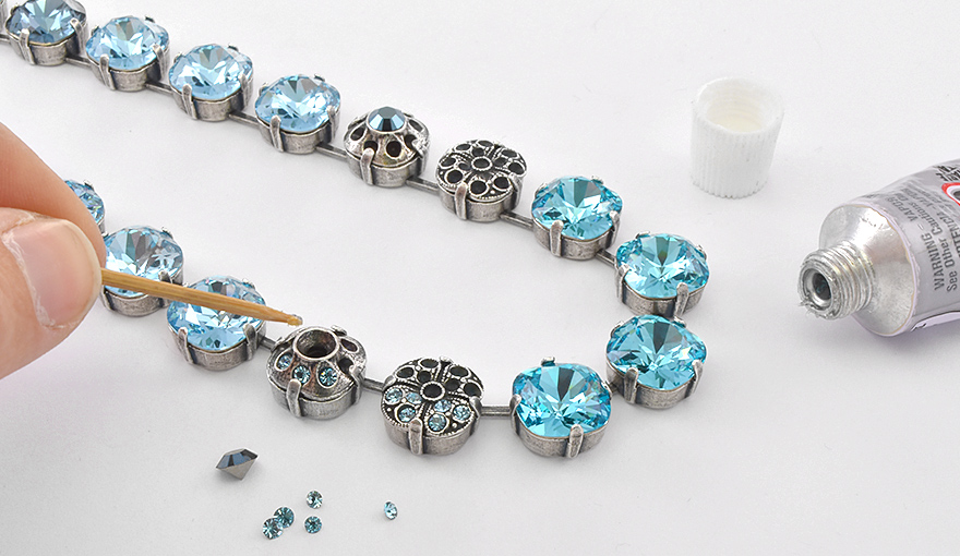 12X12 Square cup chain jewelry kit