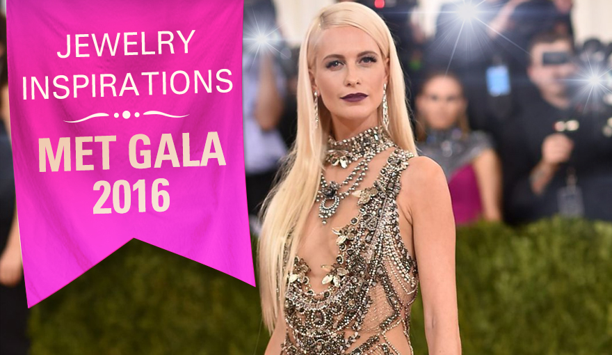 Jewelry inspired by the 2016 Met Gala