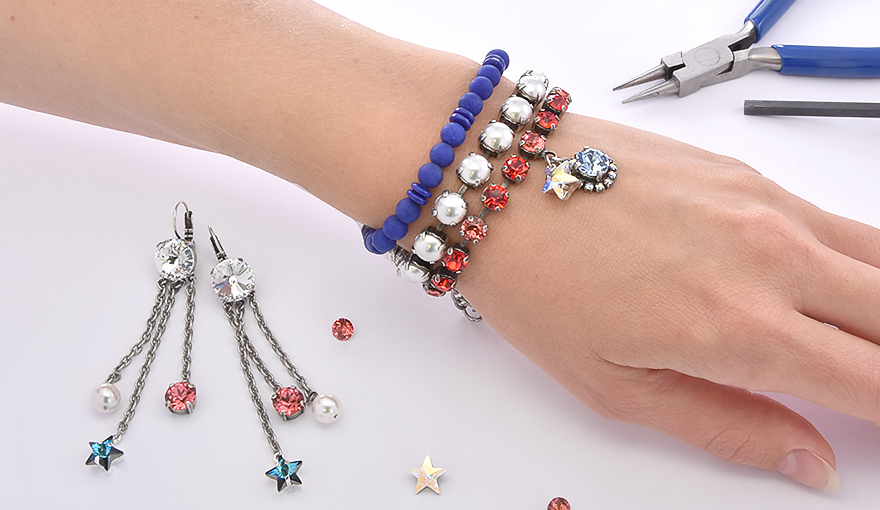 Jewelry inspiration for the 4th of July