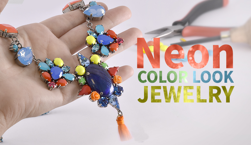 Neon color jewelry inspiration