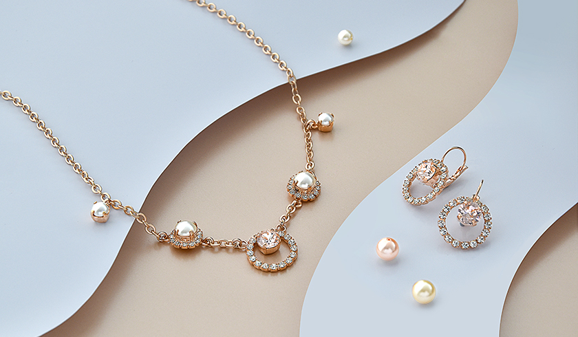 Romantic bridal jewelry collection - part 1