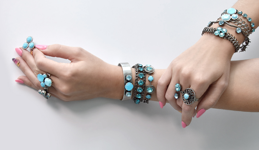 Urban Turquoise summer jewelry collection
