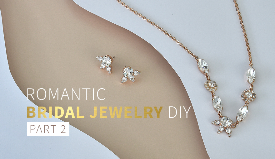 Romantic bridal jewelry collection - part 2