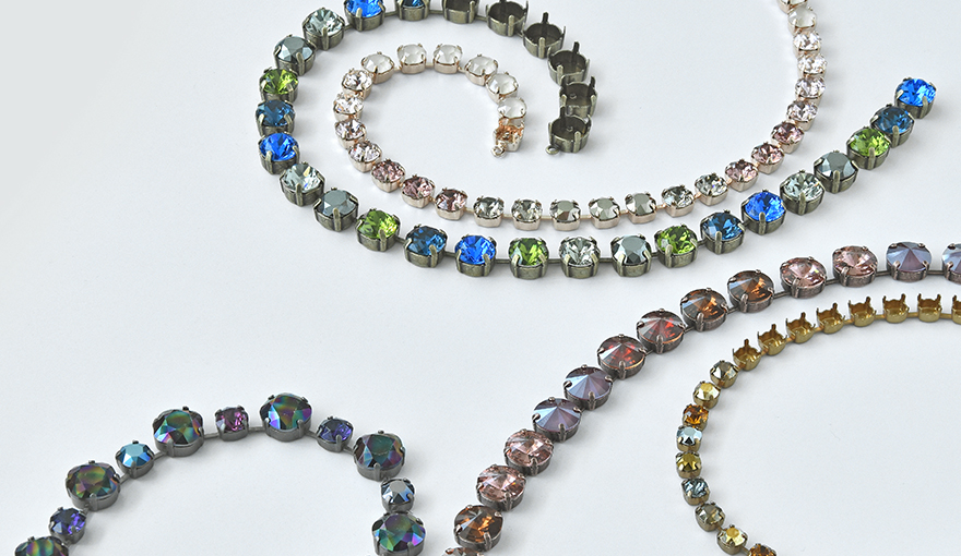 Five winter color combinations for jewelry making