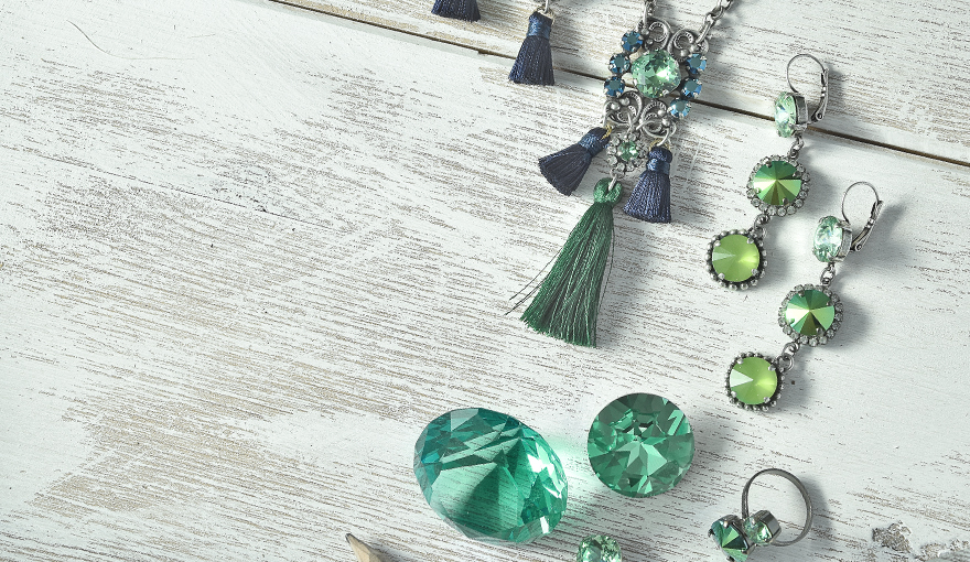 Fresh colors of green & blue inspiration